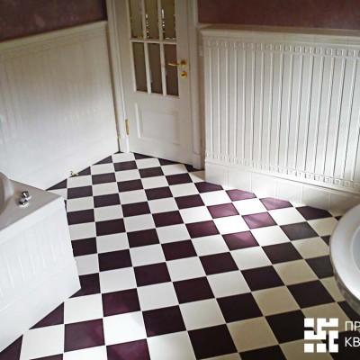 Ванная на втором этаже