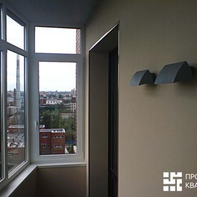 Ремонт квартиры на Дрезденской. Лоджия