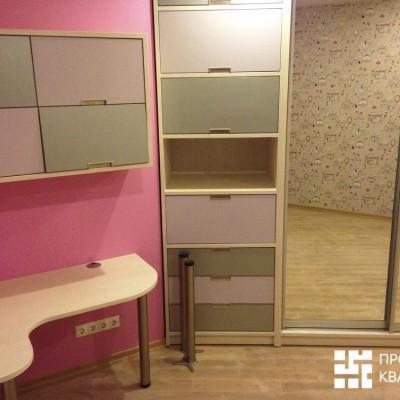 Ремонт квартиры на Орджоникидзе. Вторая детская, вид справа