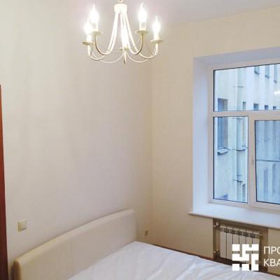 Ремонт квартиры на Жуковского. Детская. Батарея спрятана в нишу