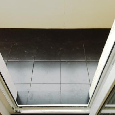 Ремонт на Белышева, плитка на балконе