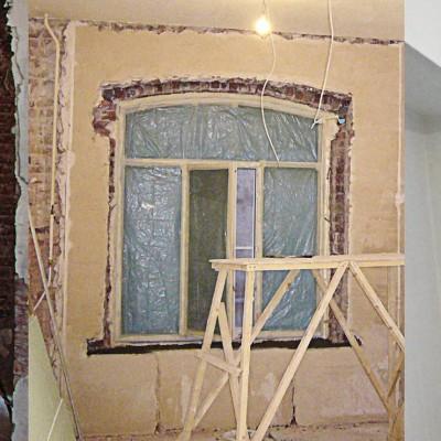 Капитальный ремонт. Восстановление исторической формы окна в старом фонде СПб