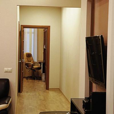 Ремонт квартиры на Жуковского. Гипрочная ниша для телевизора