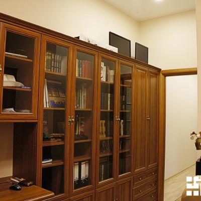 Ремонт квартиры на Жуковского. Выход из кабинета