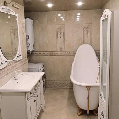 Ванная комната. Натяжной потолок