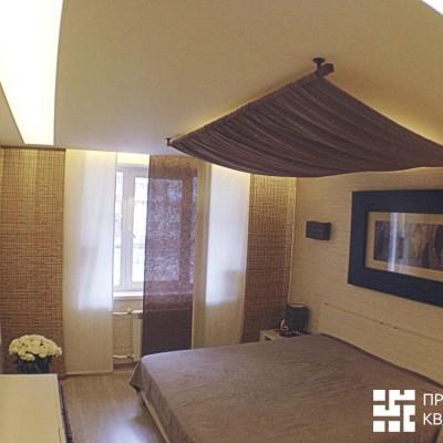 Ремонт квартиры на Королёва. Спальня, общий вид