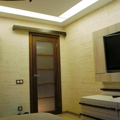 Ремонт квартиры на Королёва. Спальня, вид от окна