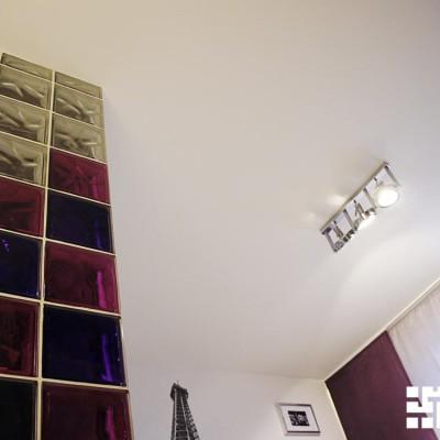 Ремонт квартиры на Королёва, детская. Перегородка из стеклоблоков