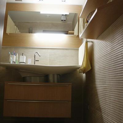 Ванная комната, вид от двери