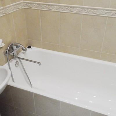 Отзыв о ремонте квартиры, ул.Ленина, фото 1. Ванная комната